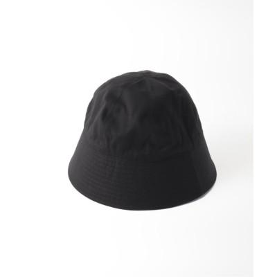 【エディフィス】 コットンウェポン セイラ―ハット メンズ ブラック フリー EDIFICE