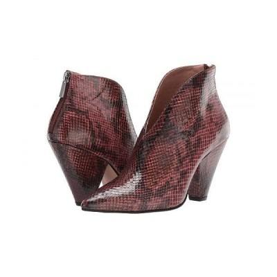 Chinese Laundry チャイニーズランドリー レディース 女性用 シューズ 靴 ブーツ アンクル ショートブーツ Rudie - Whiskey/Wine Faux Leather