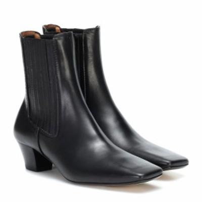 ジョゼフ Joseph レディース ブーツ ショートブーツ シューズ・靴 Leather ankle boots Nero