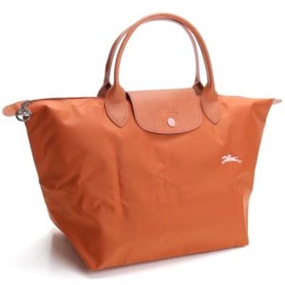 新品 ロンシャン LONGCHAMP PLIAGE トートバッグ ル プリアージュ クラブ トップハンドルバッグM 1623 619 P39 オレンジ系 レディース 送