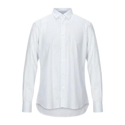DOMENICO TAGLIENTE シャツ ホワイト 39 コットン 100% シャツ