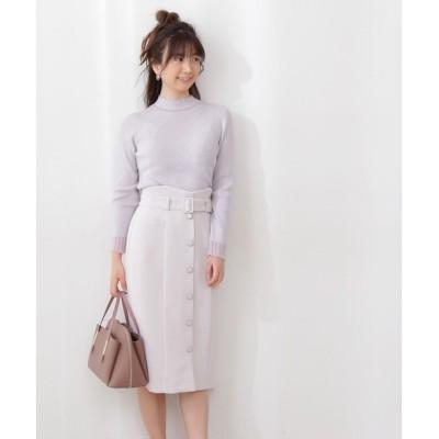 【プロポーションボディドレッシング/PROPORTION BODY DRESSING】 レディタイトハイウエストスカート