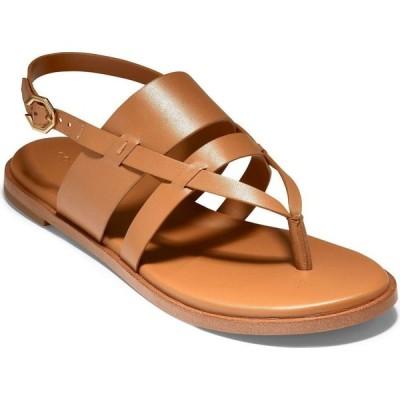 コールハーン Cole Haan レディース サンダル・ミュール シューズ・靴 Finley Grand Sandals Pecan Leather
