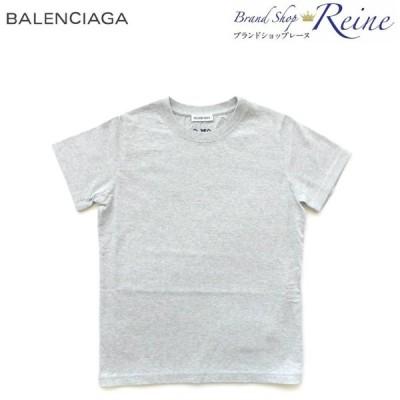 バレンシアガ(BALENCIAGA) Tatto タトゥー ロゴ 刺繍 レディース Tシャツ 571213 Lサイズ 新品