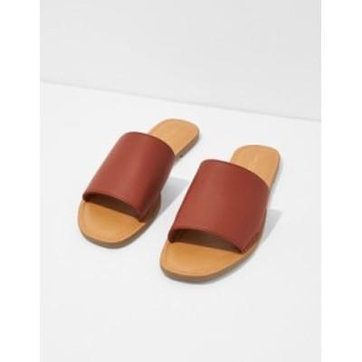 アメリカンイーグル レディース サンダル シューズ AE Slide Sandal Cognac