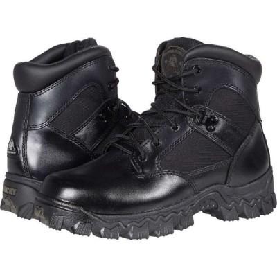 ロッキー Rocky レディース シューズ・靴 Alpha Force Waterproof 6' Public Service Soft Toe Black
