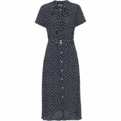 ラルフ ローレン Polo Ralph Lauren レディース ワンピース シャツワンピース ワンピース・ドレス Polka-dot midi shirt dress Spring Po