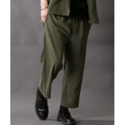 パンツ スラックス belted wide Pants/ベルト付きワイドパンツ