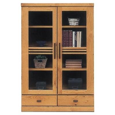 本棚 書棚 完成品 幅80cm リビング収納 リビングボード ミドルタイプ モダン