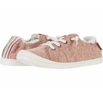 ロキシー スニーカー シューズ レディース Bayshore Faux-Fur Lined Shoes Rust