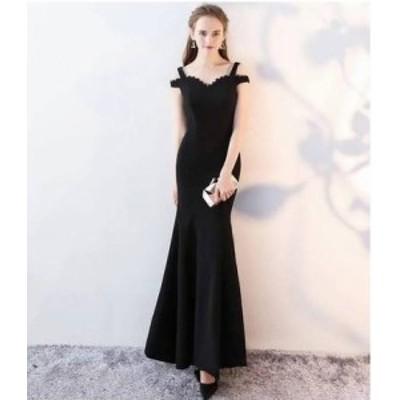 ドレス ワンピース ロング丈 ノースリーブ 20代  黒 タイト きれいめ 大人可愛い 春夏 結婚式 お呼ばれ a309