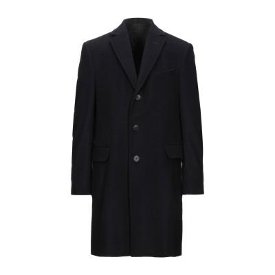 ZZEGNA コート ダークブルー 52 ウール 75% / ナイロン 25% コート