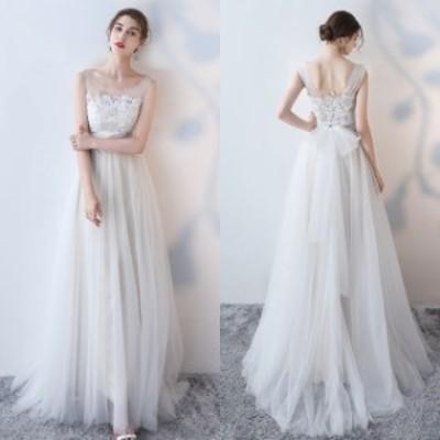 [一部即納] ウェディングドレス 花嫁 白 チュール 大きいサイズ 3l 花嫁 ドレス 白ワンピース レース ウェディングドレス 二次会 スレン