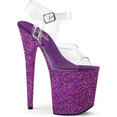 プリーザー レディース サンダル シューズ Flamingo-808LG Glitter Ankle Strap Sandal