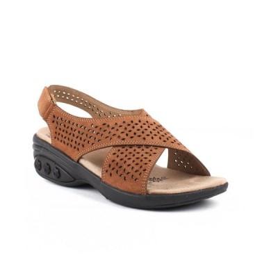 セラフィット THERAFIT レディース サンダル・ミュール シューズ・靴 Shoe Olivia Adjustable Cross Strap Sandal Cognac