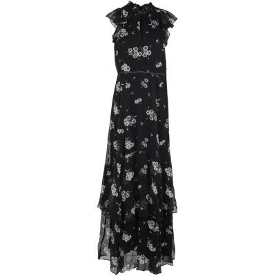 IVY & OAK ロングワンピース&ドレス ブラック 38 レーヨン 100% ロングワンピース&ドレス