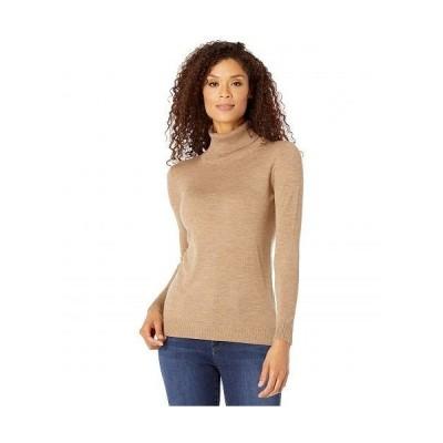 Pendleton ペンドルトン レディース 女性用 ファッション セーター Timeless Turtleneck - Camel Heather 1