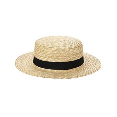 男女兼用 カンカン帽 メンズ レディース ボーターハット
