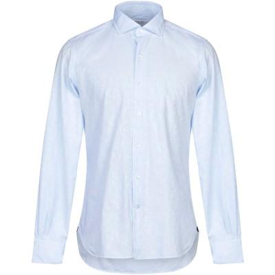 ORIAN シャツ スカイブルー 39 コットン 100% シャツ