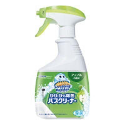 ジョンソン【セール】スクラビングバブル 99.9%除菌 バスクリーナー アップルの香り 本体 400ml 1個 ジョンソン
