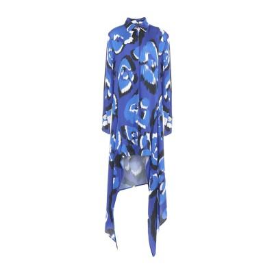 ジャストカヴァリ JUST CAVALLI ミニワンピース&ドレス ダークブルー 36 レーヨン 100% ミニワンピース&ドレス