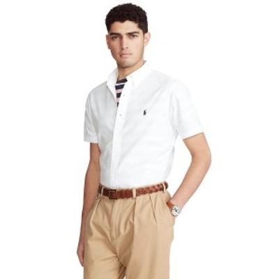 ラルフローレン メンズ シャツ トップス Men's Classic-Fit Oxford Shirt White