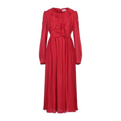 TOY G. 7分丈ワンピース・ドレス レッド S ポリエステル 100% 7分丈ワンピース・ドレス