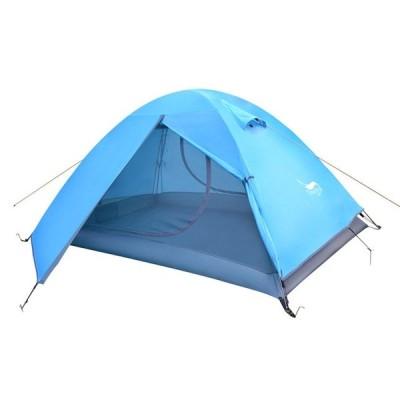 Desert&Foxバックパッキングテント Blue