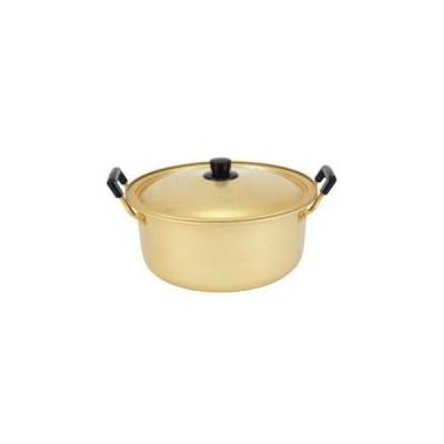 【まとめ買い10個セット品】 アルマイト しゅう酸実用鍋 16cm【 鍋全般 】