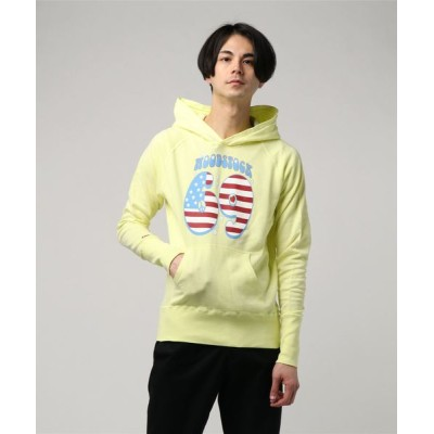 TMT / GAZE MINI FRENCH TERRY PULLOVER HOODIE(WOOD STOCK69) MEN トップス > パーカー