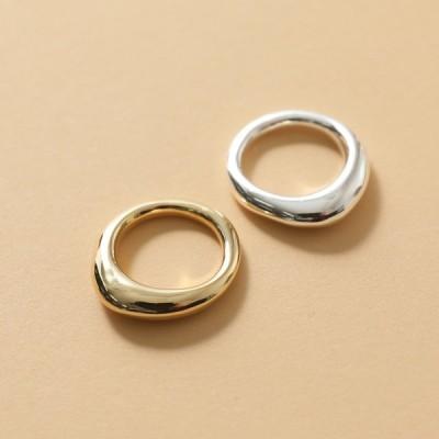 LADY GREY レディ グレー LG749 THIN ORGANIC RING カラー2色 リング 指輪 アクセサリー レディース