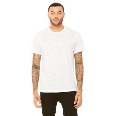 ユニセックス 衣類 トップス The Unisex Poly-Cotton Short-Sleeve T-Shirt - NATURAL SLUB - XS Tシャツ