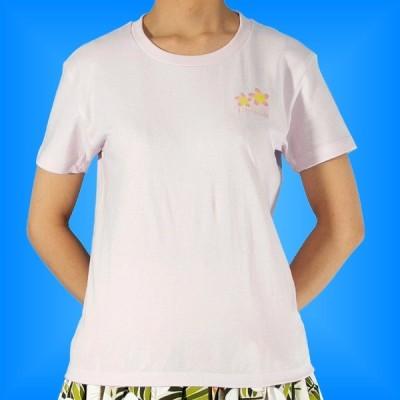 フラダンス Tシャツ XL プルメリア ピンク 542xlp