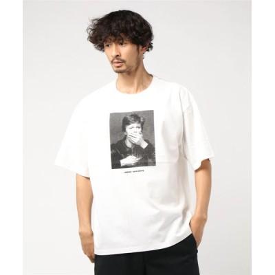 tシャツ Tシャツ BILLY'S David Bowie BIG S/STEE デヴィッド・ボウイ DBB-1 WHITE
