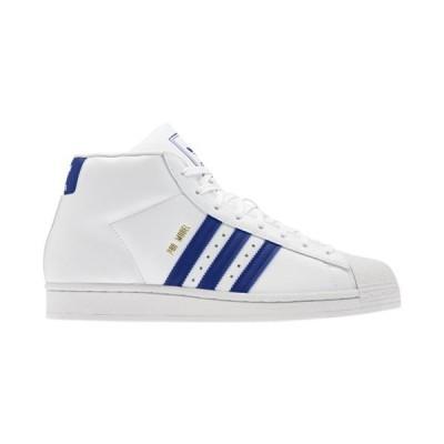 (取寄)アディダス オリジナルス スニーカー メンズ シューズ プロ モデル adidas originals Men's Shoes Pro Model White Royal Crystal White