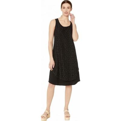 トリバル Tribal レディース ワンピース ワンピース・ドレス Dress w/ Lace Layer Black