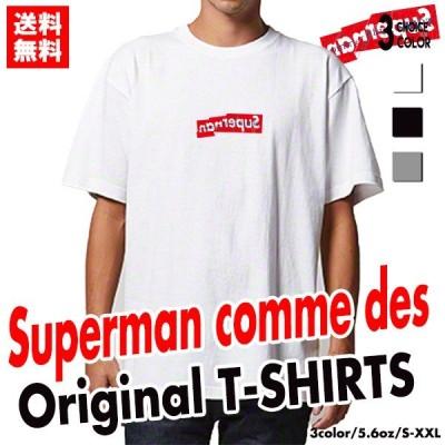 ストリート 大人気 ブランド Tシャツ Superman 大人気 ボックスロゴ BOXロゴ オシャレ トレンド モード デザイン ユニセックス メンズ レディース