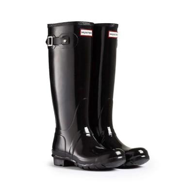 ハンター Hunter レディース レインシューズ・長靴 シューズ・靴 Original Tall Gloss Boot Black