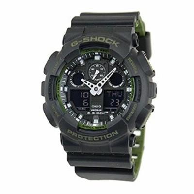 腕時計 カシオ メンズ Casio GA-100L-1A G-Shock GA-100 Military Series Watch (Black / One Size)