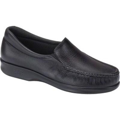 エスエーエス レディース サンダル シューズ Twin Moc Toe Slip On Black