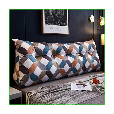 DLP Large Triangle Headboard Cushion,Washable Back Cushion Removable Wedge Pillow Tatami Lumbar Pad Back Support Pillow Reading Pillow-n 150