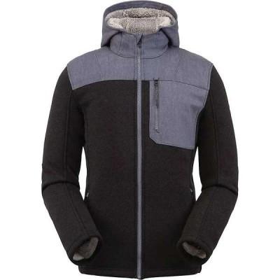 スパイダー メンズ ジャケット・ブルゾン アウター Spyder Men's Alps Full Zip Hoodie Fleece Jacket