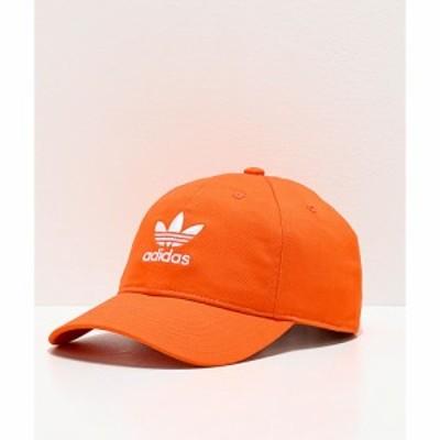 アディダス ADIDAS メンズ キャップ スナップバック 帽子 adidas Originals Relaxed Orange Strapback Hat Orange