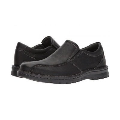 Clarks クラークス メンズ 男性用 シューズ 靴 ローファー Vanek Step - Black Oily Leather