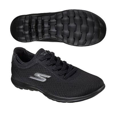 スケッチャーズ レディースファッション スニーカー ローカット ウィメンズ GOwalk Lite-Impulse BLACK SKECHERS 15350-BBK