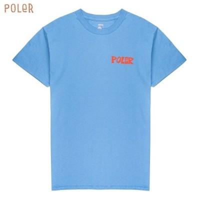 POLeR ポーラー POLER トップス Tシャツ カットソー SCHOOLHOUSE TEE 半袖Tシャツ クルーネックTシャツ