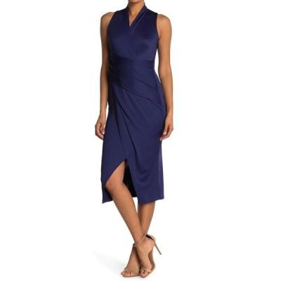ライチェルレイチェルロイ レディース ワンピース トップス Sleeveless Solid Jersey Dress TWILIGHT BLUE