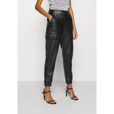 ノイジーメイ カジュアルパンツ レディース ボトムス NMHILL PANT - Trousers - black
