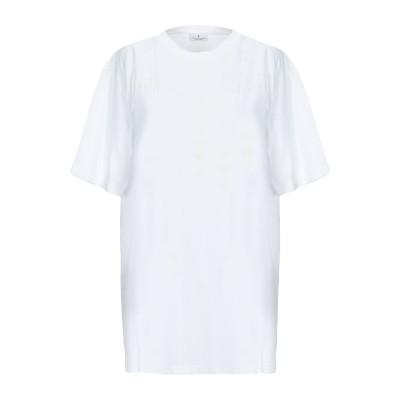 マルセロ ブロン MARCELO BURLON T シャツ アイボリー XS コットン 100% T シャツ