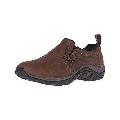 Merrell Men's Jungle Moc Nubuck Slip-On Shoe,Brown Nubuck,12 M US